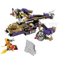 NINJA The Condrai Copter Attack Model Building Blocks Skylor Compatible LegoINGly Ninjagoes Set Toys For Children Gift 2018