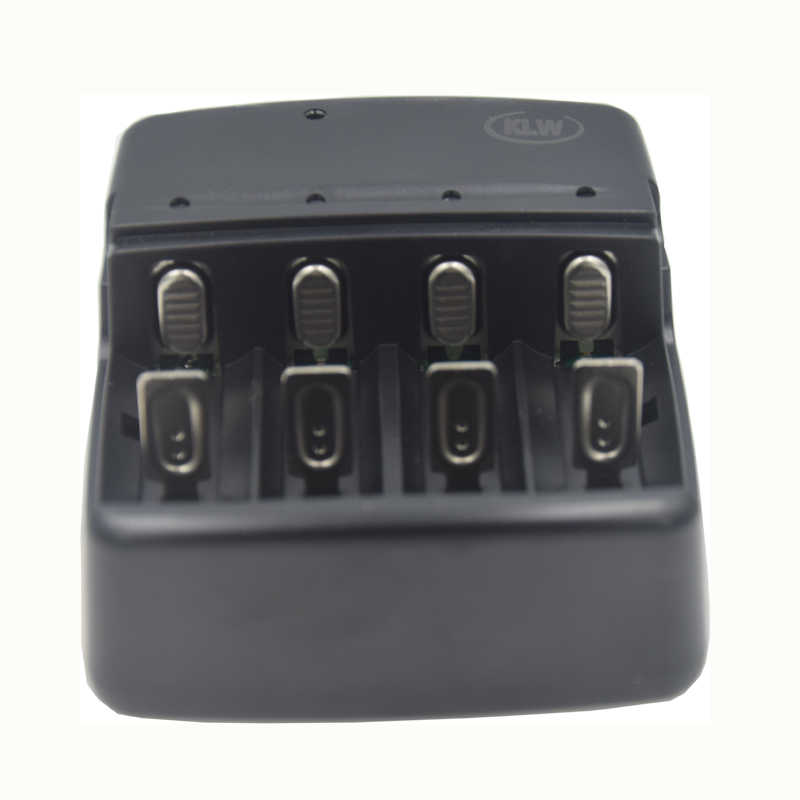 4 slots Universal battery Charger for A AA AAA AAAA C D SC Rechargeable NiMH NiCd 1.2V Batteries Smart Travel Charger EU US Plug
