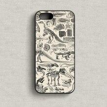 Винтаж Динозавров мода телефон обложка case для iphone 4 4s 5 5s SE 5с 6 6 плюс 6s 6s плюс 7 7 плюс # ER515