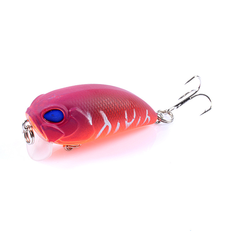 1pcs Crankbait Fishing Lure 5cm 7.2g Topwater Crank Wobbler Isca Artificial Bass Pike Hard Bait Pesca Japan Fishing Tackle