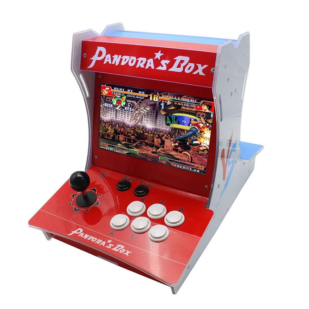 Pandora's Box 9 Mini Bartop Arcade Machine Box 1500 in 1 Table Top Video  Game Console 2 Player Controller Joystick Button Jamma