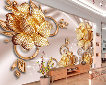 beibehang Three-dimensional fashion classic decorative interior wall paper European luxury jewelry rose backdrop 3d wallpaper