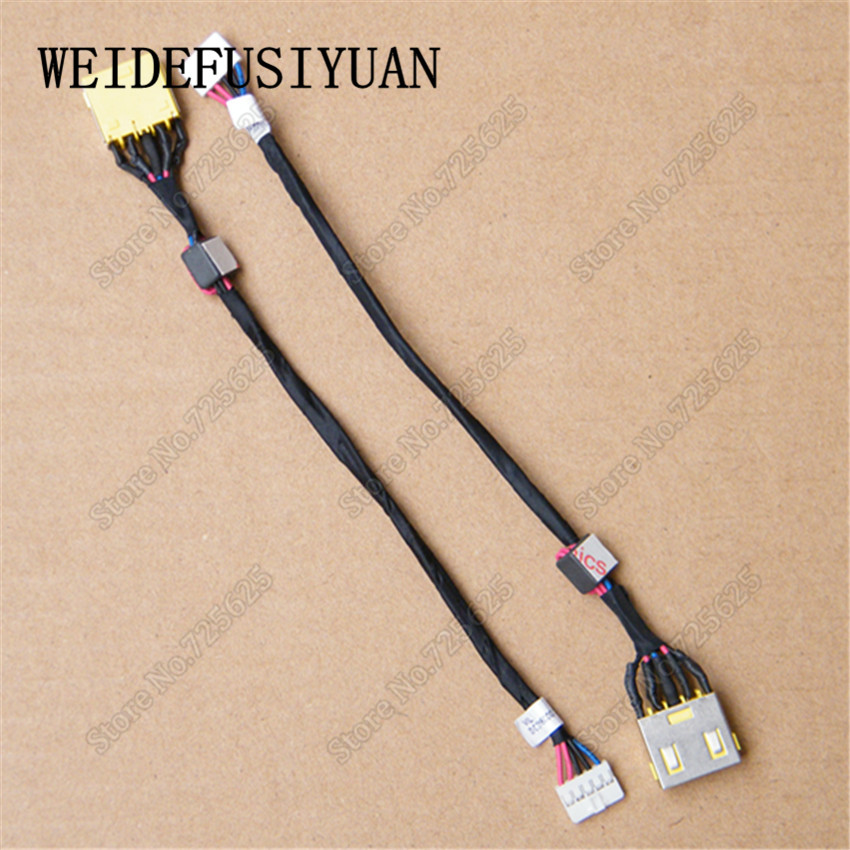 50-100 pcs/lot DC Power Jack Harness Plug in Cable For Lenovo G500 5937 G505 G400 G400S G490 G500S  G500S-20245 G500S-20263 yuxi free shipping 10pcs lot laptop motherboard dc power jack connector for lenovo g400 g490 g500 g505 z501