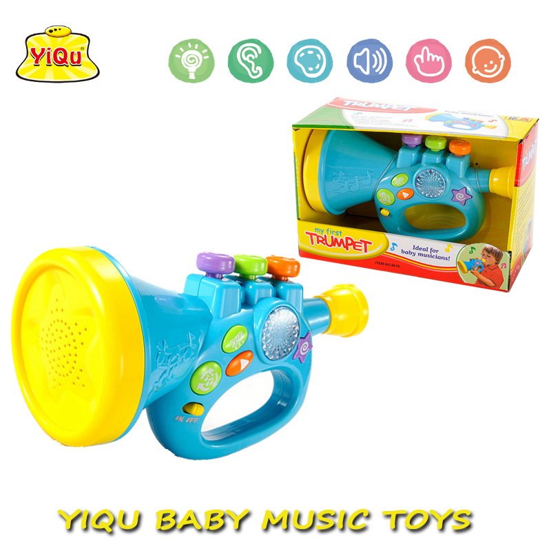 Musical Toy Trumpet : New baby educational toy musical cartoon electric trumpet