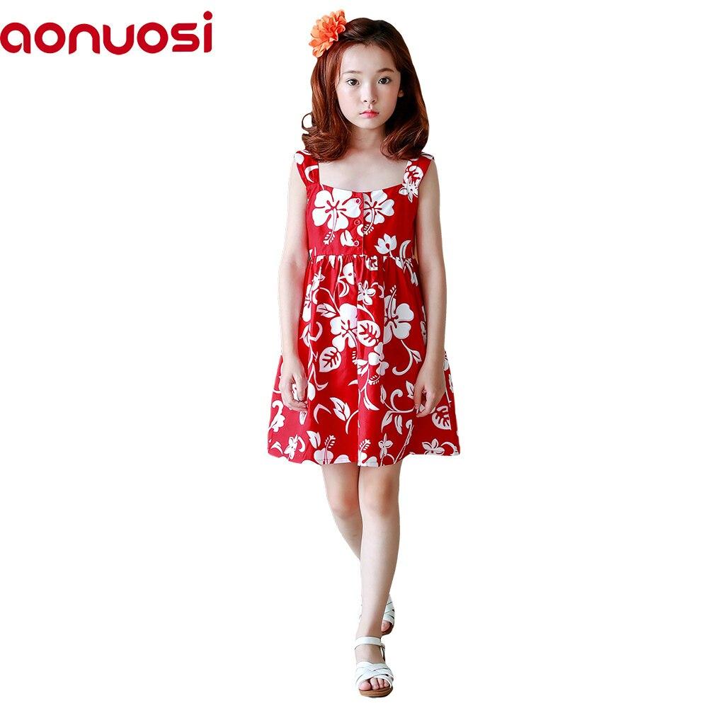 2018 Nowy produkt Odzież dziecięca Girl Korean Dress bez rękawów - Ubrania dziecięce - Zdjęcie 1