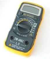 Capacitance Meter Testre Inductance Meter Strap Blue Backlight LCR Meter Electronic Measuring Instruments DM 6243L