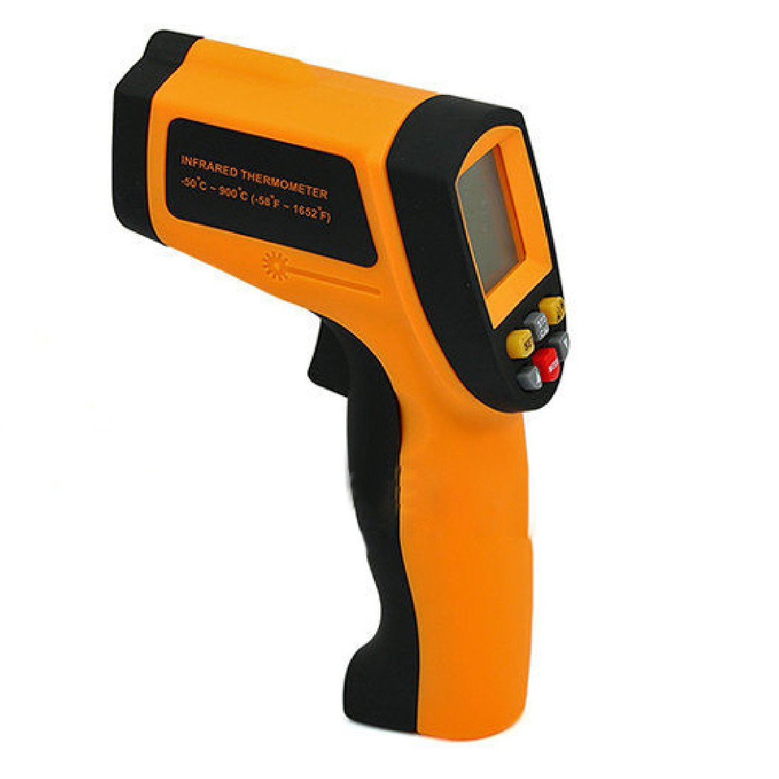 GM900 Digital Infrared Thermometer IR Laster Temperature Meter Non-contact LCD Gun Style Handheld -50-950C -58-1742F Pyrometer 50 600c 50 400c handheld non contact ir infrared thermometer digital lcd laser pyrometer temperature meter with backlight