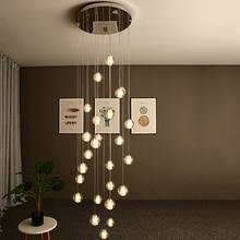 Modern Crystal Ball LED Pendant Lights lighting Living Room Bedroom Lighting Lustres Pendent Lamp Hanging Lamp Kitchen Fixtures все цены
