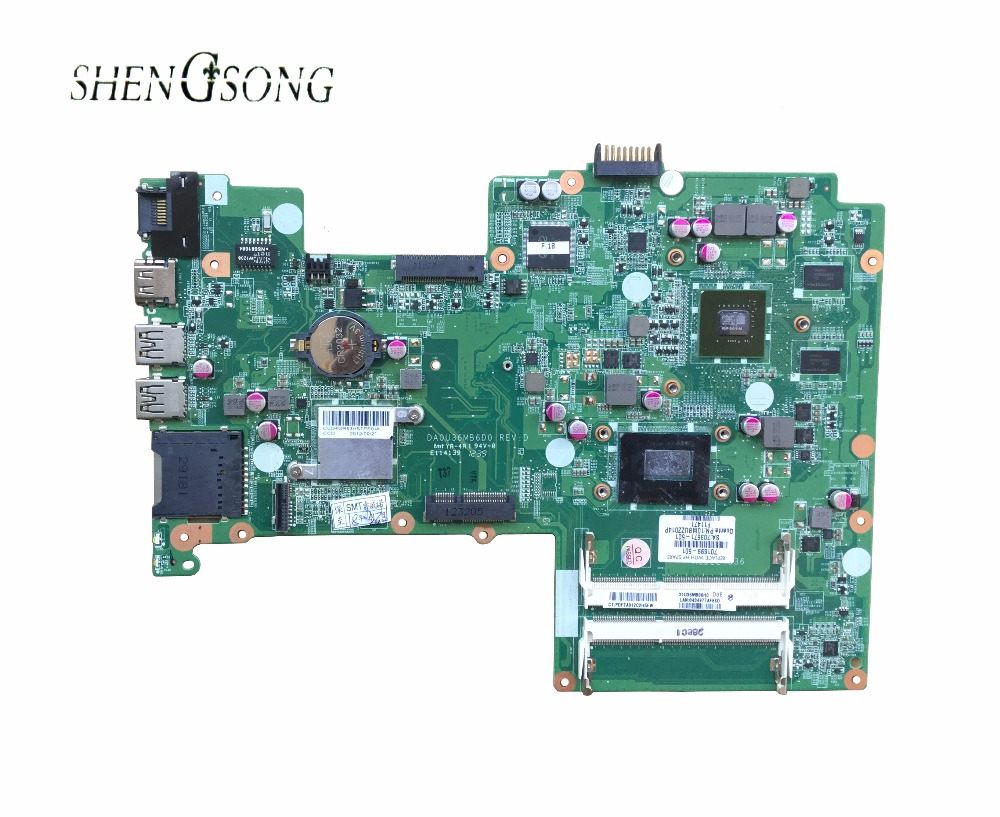 701699-501 Free shipping motherboard for HP Pavilion sleekbook 15 15T 15-B laptop 701699-001 HM77 DA0U36MB6D0 630M/1G I3-3217U free shipping 765736 501 for hp envy 15 q 15t q motherboard with sr1pz i7 4712hq gtx 850m 4gb all functions 100