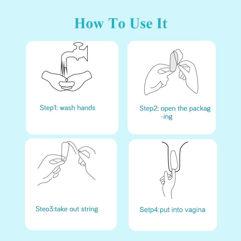Sanitary tampons (6)
