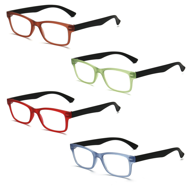 Ultra-light Reading Glasses Presbyopic Glasses gafas de lectura oculos Full Frame +1.0 To +4.0 Portable Gift for Parents -W710