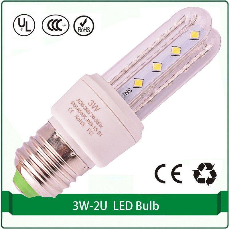 2U 3U led lamp led bulb corn light 3W E27 B22 E14 led light corn bulb led corn light bulb e26 e27 b22 18w led corn light smd5050 corn light ac85 265v