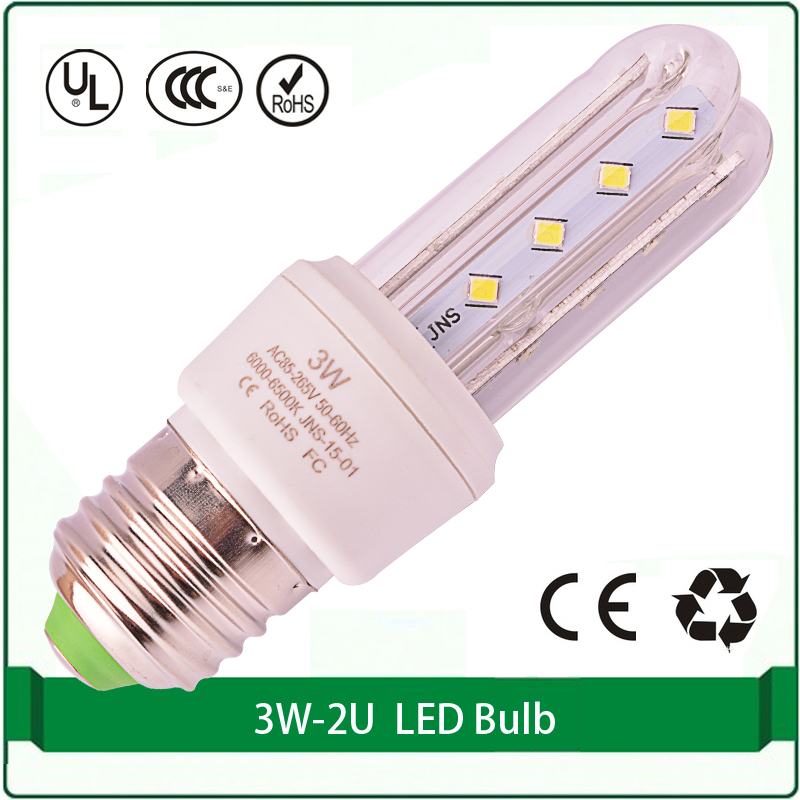 2U 3U led lamp led bulb corn light 3W E27 B22 E14 led light corn bulb led corn light bulb