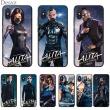 Desxz Silicone Cell Phone Case For Xiaomi Mi MAX 3 6 8 9 F1 A1 A2 5X 6X Lite Cover Alita Movies Bag(China)