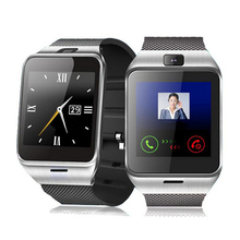 2017 nuevo bluetooth smart watch aplus gv18 a18 para android lg sony tarjeta de la ayuda sim gsm dispositivo portátil con cámara waterpoof nfc