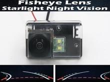 цена на 1080P Fisheye Lens Trajectory Tracks Car Rear view Camera for Peugeot 206 207 306 307 Sedan 308 406 407 5008 Partner Tepee
