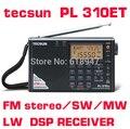 2016 новый стиль TECSUN PL-310ET FM AM MW SW LW DSP Приемник МИР ГРУППА Коротковолнового РАДИО Цифровой Демодуляции Стерео Радио
