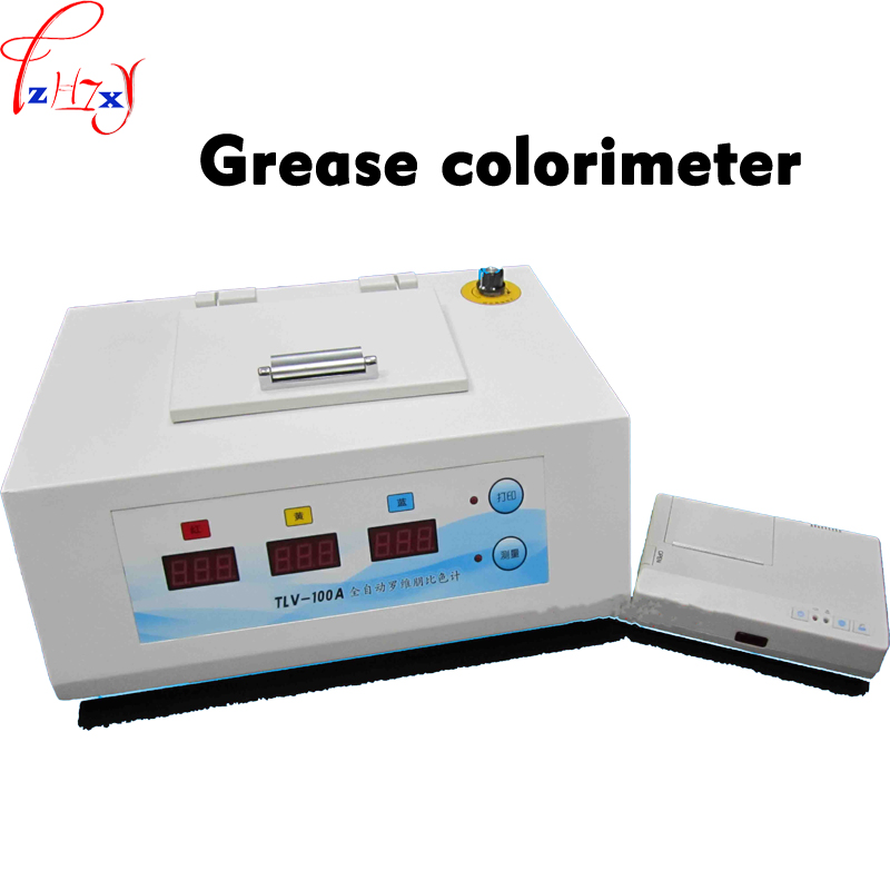 Digital display automatic grease colorimeter TLV-100A grease colorimeter with print test results 220V 1pc