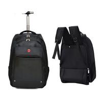 BeaSumore 19 inch Cabin Travel Bag Multifunction Trolley Rolling Luggage Oxford Shoulder Suitcase Wheels Men Laptop Backpack
