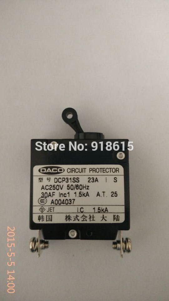 DCP31SS 23A  circuit breaker fit EC6500CX  EF6600E GENERATOR PARTS