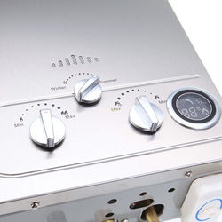 أفضل البروبان سخان مياه سخان مياه حار مبيعات الوقت محدودة 8l Lpg ل ثرموستاتي Tankless الفورية حمام المرجل دش رئيس