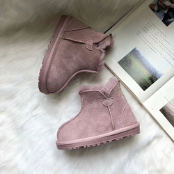 MIYAGINA wysokiej jakości 100% oryginalna skóra owcza buty dziecięce nowe buty dziewczęce chłopcy wodoodporne buty śnieżne dziecięce buty zimowe w Buty od Matka i dzieci na
