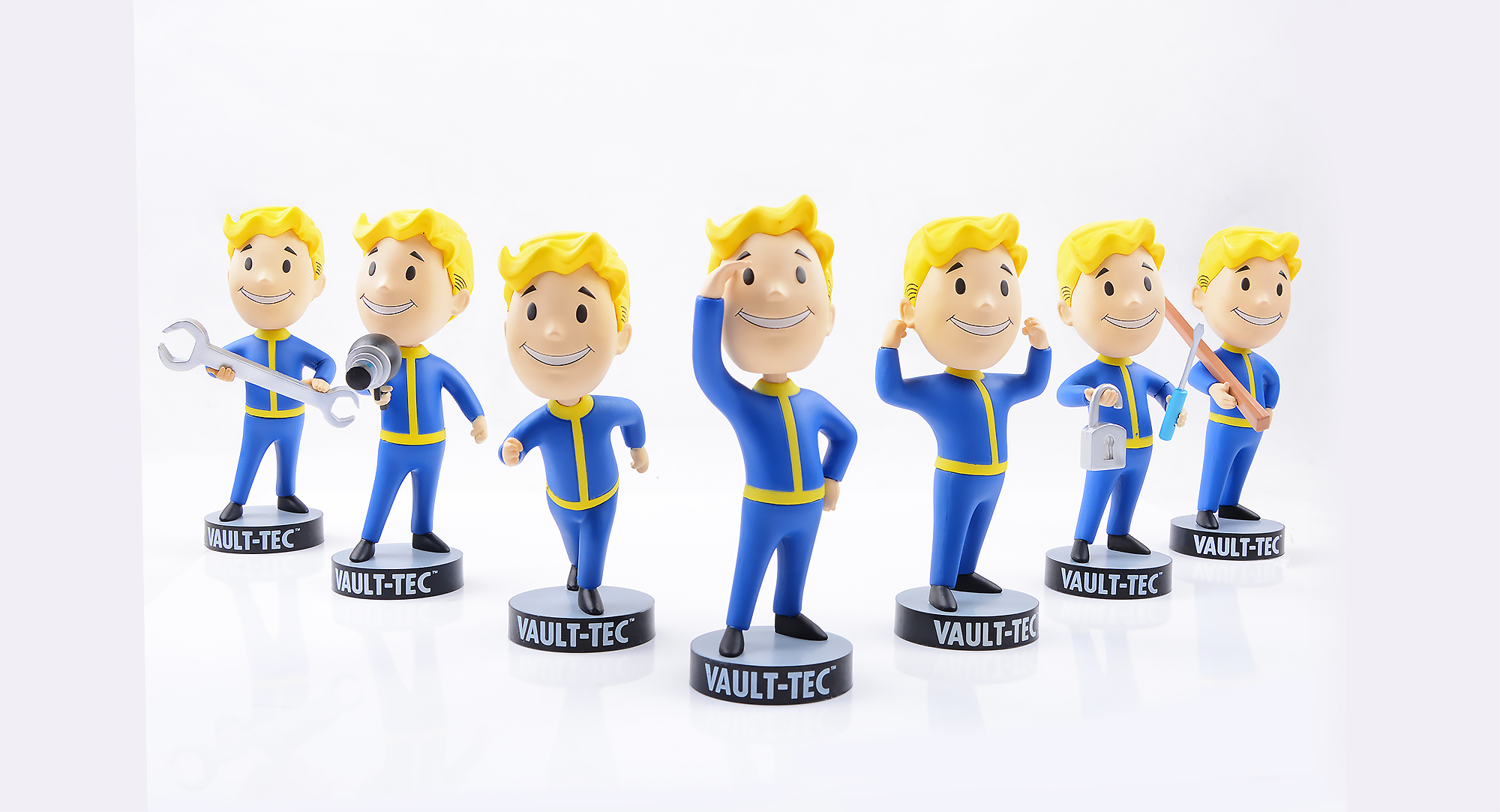 Fallout 4 Vault Boy Gaming Heads Fallout 4 toys Bobbleheads PVC Action Figure toy For Kid birthday gift DOLL brinqudoes