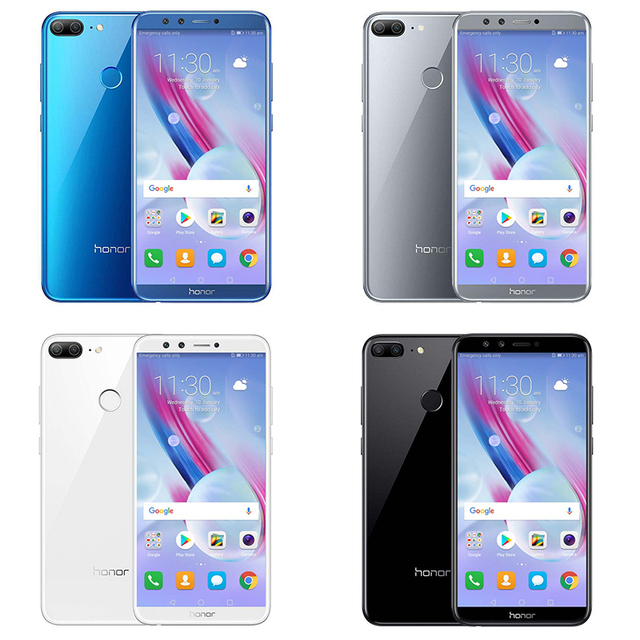 Huawei Honor 9 Lite 5.65″ Full View Screen 2160*1080Pix Android 8.0 Smartphone Octa Core 4 Cameras Fingerprint mobile phone