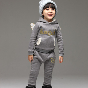 Image 4 - V TREE ילדי בגדי סט ספורט צמר חליפת עבור ילד חורף פעוט חליפות בנות כנפי ילדים אימונית תינוק בית ספר תלבושות