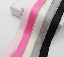 Fringed Edge Grosgrain Ribbon By The Yard 5/8 Inch 16MM 1 INCH 25MM Width ECO-Friendly DIY Hairbow Crafts