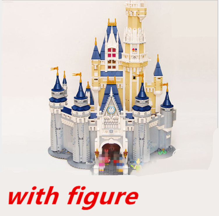 Lepin 16008 4080pcs Cinderella Princess Castle City Model Building Block Kid Educational For Children Compatible legoing 71040 lepine 16008 cinderella princess castle 4080pcs model building block toy children christmas gift compatible 71040 girl lepine
