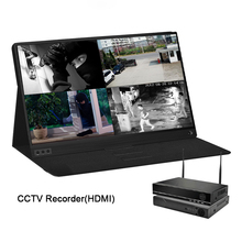 Купить с кэшбэком 15.6 inch ips screen hdmi type c lcd usb cctv camera portable monitor