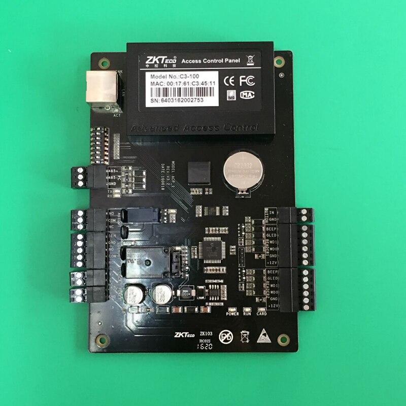 ФОТО TCP/IP Based Communication Single Door RFID Card Access Controller /Card Access Controller C3-100 2Piece/lot