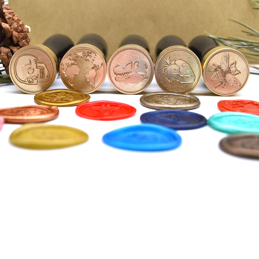 The Beautiful Moon Wax Seal Stamp Black Wood Handle Cooper Head 25mm Moon Seal Stamp for Invitation Decoration moon flac wood