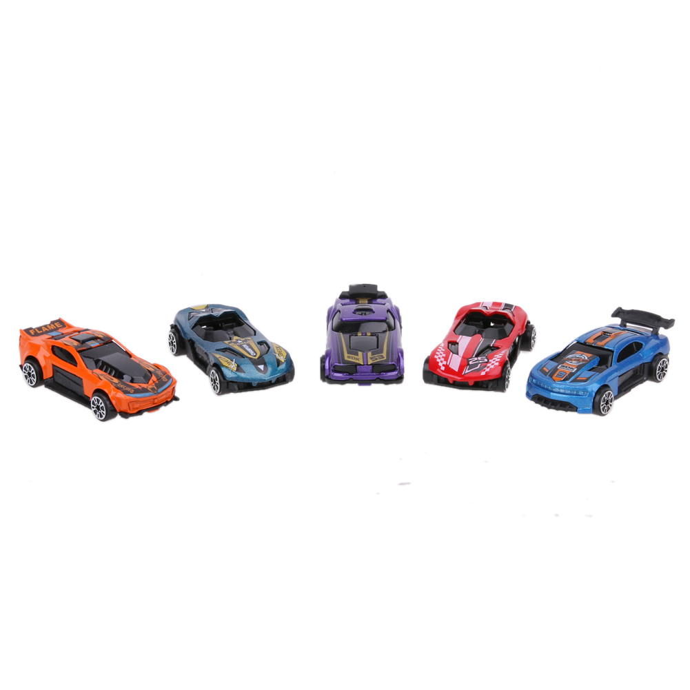 5Pcs Colors 1 64 Scale Alloy Racing Car Models Kids Children Car Interesting Pull Back Car