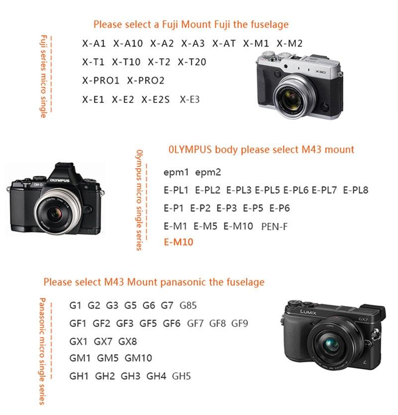 Cheap fixed lens