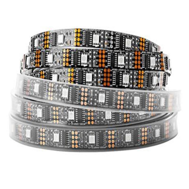 String Lights WS2801 Chip LED RGB Strip DC5V 5m 32leds m5050 Individually Addressable Tape Full Dream Color Light Chrismas in LED Strips from Lights Lighting