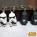 Wholesale Star War Keychain Darth Vader Storm Trooper Action Minifigure Keychain Star War Action Figures Toy Gift Llavero ZKSWMD