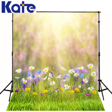 kate Photographic background Meadow flowers plants studio No creasesbackdrops princess kids 10x20