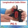 Venta CALIENTE Del Envío Libre Cortadora Longitudinal Cable PG-5/Fibra Óptica Cortadora Stripper igual que TC-5