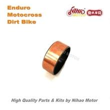 118 Motocross Parts Front shock absorber sliding bushing Enduro Kit Dirt bike spare cross Nihao Motor for Husqvarna Wel Bosuer X