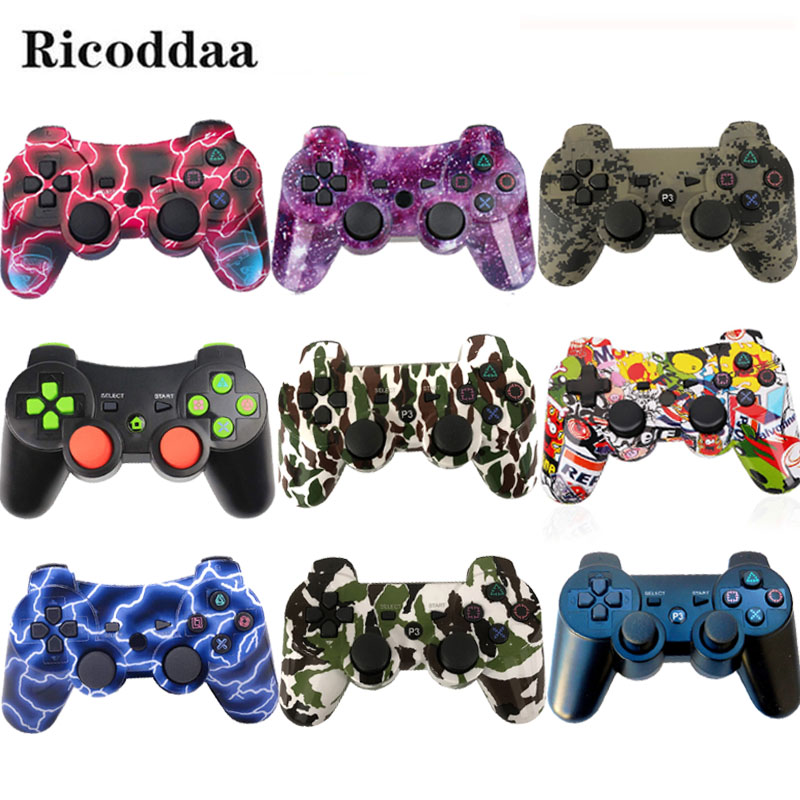 Bluetooth <font><b>Controller</b></font> For Sony PS3 Gamepad <font><b>PC</b></font> <font><b>Controller</b></font> <font><b>Wireless</b></font> For PS3 Mando Joystick SIXAXIS Controle Game Accessories image