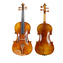 Professional Handmade 4/4 Violin Natural Acoustic Basswood Face Board Violin with Case Box Rosin Bow 	TL002-1 handmade new top model art 5 strings red 4 4 electric violin streamline case rosin bow included string instrument