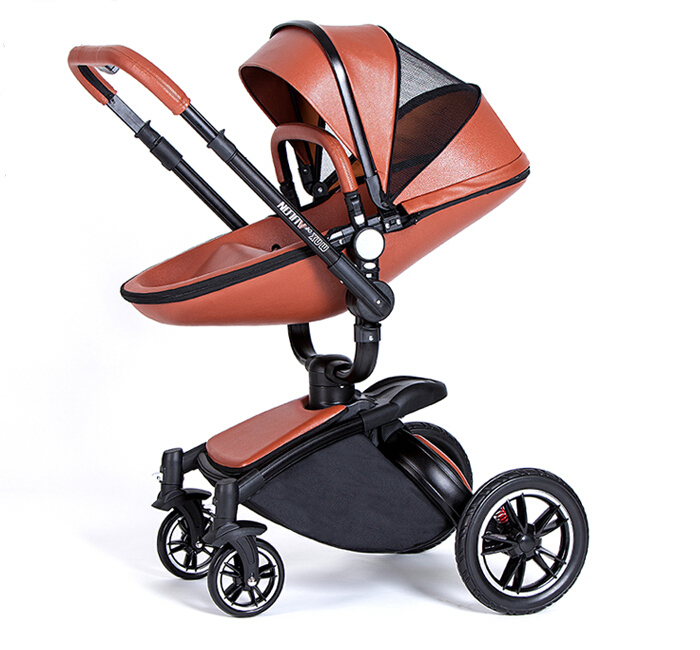 High View 360 Degree Rotation Baby Stroller  2 in 1 Baby Cart Trolley Egg Design rotation movements of robot manipulators in 1