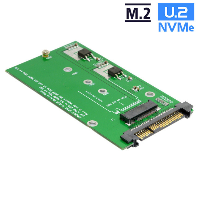 Cablecc SFF-8639 NVME U.2 to NGFF M.2 M-key PCIe SSD Cable Adapter for Mainboard Replace Intel SSD 750 p3600 p3700