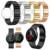 Chegada nova faixas de relógio rose gold 22mm inoxidável pulseira smart watch strap band para xiaomi huami amazfit a1602 relógio cintas