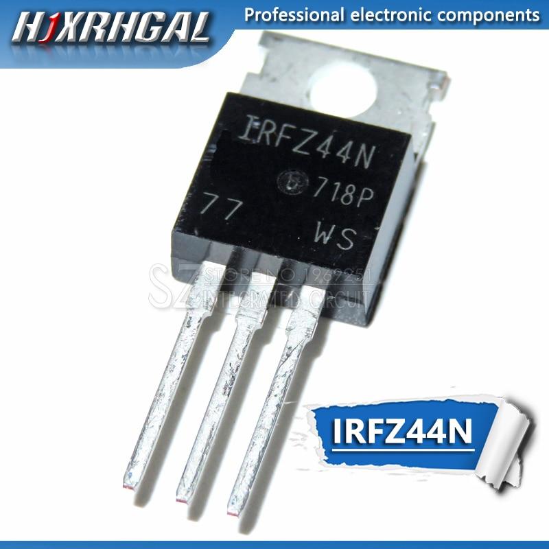 50pcs IRFZ44N IRFZ44 IRFZ44NPBF MOSFET MOSFT 55V 41A 17.5mOhm 42nC TO-220 New Original