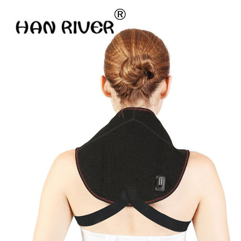 Electric moxibustion neck Heat treatment of cervical heating and physiotherapy Relaxation cervical Pain Relief Health Care healthcare gynecological multifunction treat for cervical erosion private health women laser device