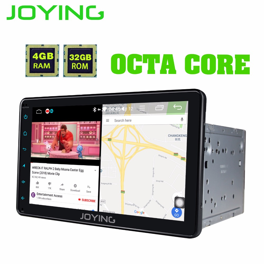 JOYING 2 din car radio Android 8.1 For Toyota Corolla Octa Core 8HD touch screen with DSP Sleep Mode Split Screen Android auto