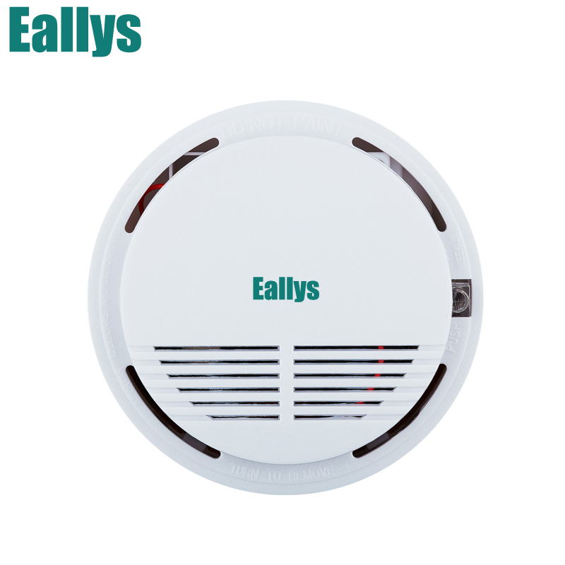 Wireless Alarm Security Smoke Fire Detector/Sensor For 433mhz Home House Office GSM SMS Alarm Systems wireless smoke fire detector smoke alarm for touch keypad panel wifi gsm home security system without battery
